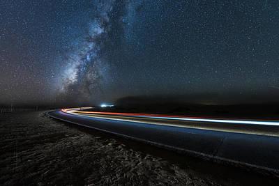Corralejo Photograph - Speed Of Light by Simon Waldram