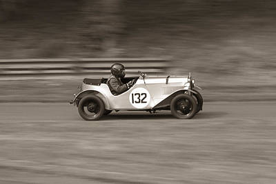 Photograph - Speed by Tony Serzin