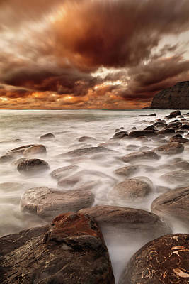 Photograph - Speeding Clouds by Jorge Maia