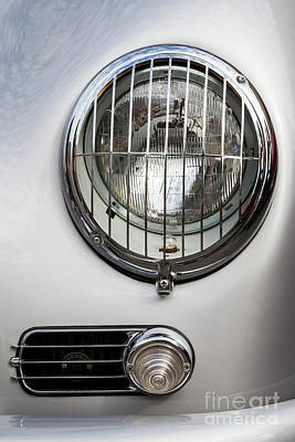 Photograph - Speedster Headlight 2 by Dennis Hedberg