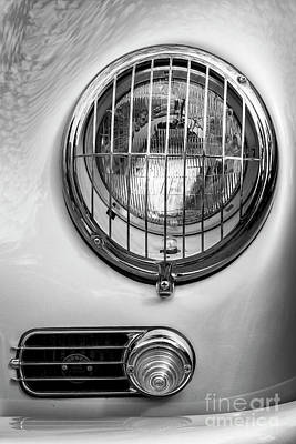 Photograph - Speedster Headlight by Dennis Hedberg