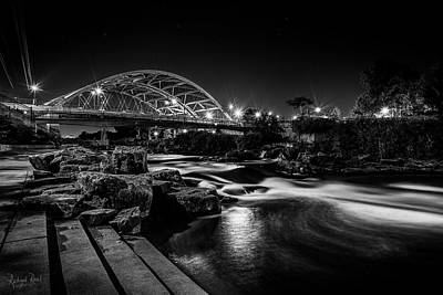 Speer Blvd. Bridge Art Print by Richard Raul Photography