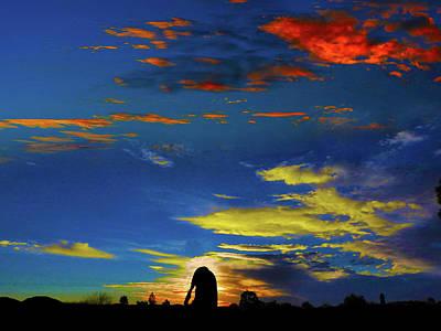 Photograph - Spellbinding Sunset by Mark Blauhoefer
