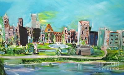 Painting - Spellbound Bv Ashford Castle by Jill Morris