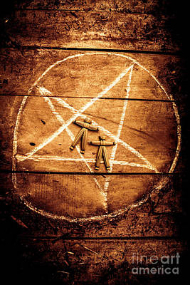 Pentagram Photograph - Spellbound by Jorgo Photography - Wall Art Gallery