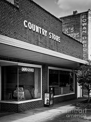 Spencer Country Store Art Print by Patrick M Lynch