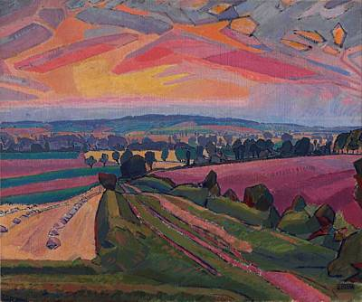 Spencer Gore - The Icknield Way Art Print by Celestial Images