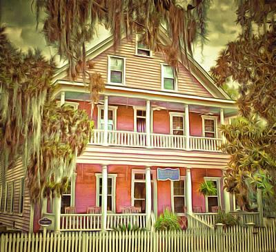 Spencer House Inn Art Print