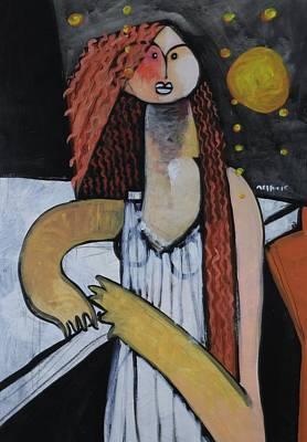 Painting - Speramus The Stranger  by Mark M  Mellon