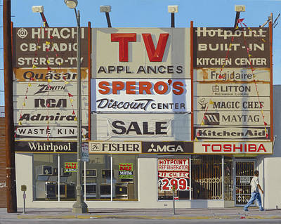 Discount Wall Art - Painting - Spero's by Michael Ward