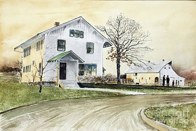 Sperry Homestead Art Print