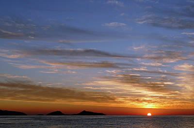 Photograph - Spetses Sunrise by Bruce
