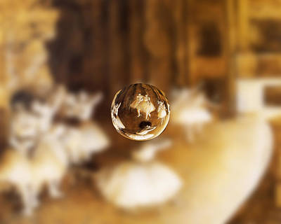 Digital Art - Sphere 15 Degas by David Bridburg