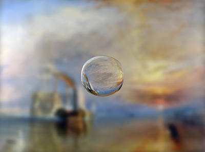 Digital Art - Sphere 6 Turner by David Bridburg