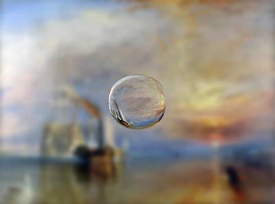 Digital Art - Sphere 6 Turner by David Bridburg