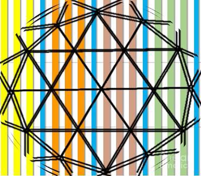 Painting - Sphere by Belinda Threeths