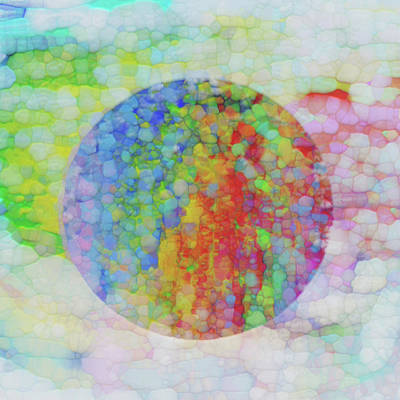 Stone Abstraction Painting - Sphere by Jack Zulli