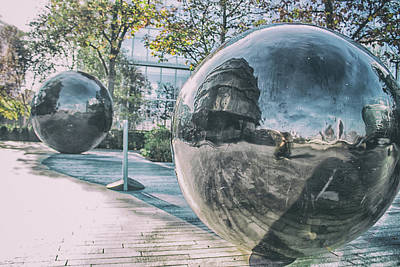 Realistic Photograph - Sphere Reflections by Martin Newman