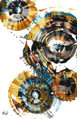 Painting - Sphere Series 1000.042312 by Kris Haas