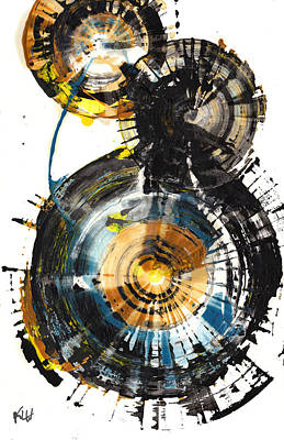 Painting - Sphere Series 1003.042412 by Kris Haas