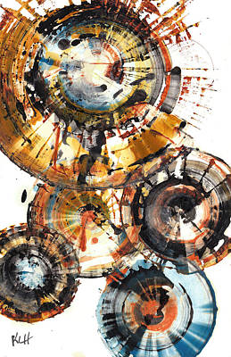 Painting - Sphere Series 1004.042412 by Kris Haas