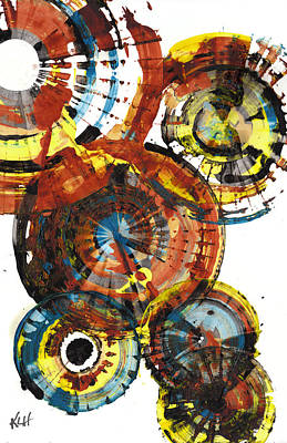 Painting - Sphere Series 1006.042512 by Kris Haas