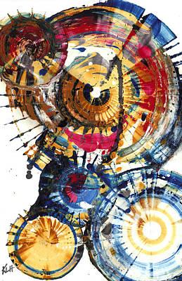 Painting - Sphere Series 1007.042512 by Kris Haas