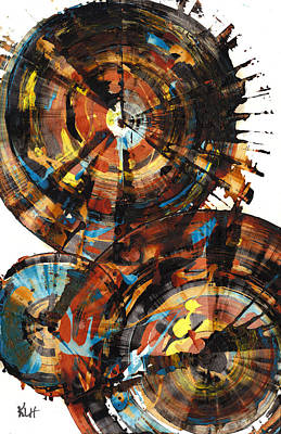 Painting - Sphere Series 1010.042512 by Kris Haas