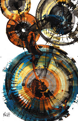 Painting - Sphere Series 1014.042612 by Kris Haas
