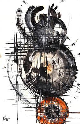 Painting - Sphere Series 1019.043012 by Kris Haas