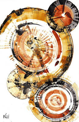 Painting - Sphere Series 1020.050112 by Kris Haas