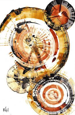 Painting - Sphere Series 1020.050112 by Kris Haas