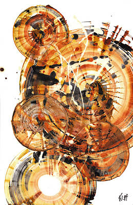 Painting - Sphere Series 1021.050212 by Kris Haas