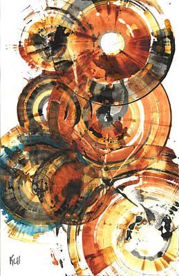 Painting - Sphere Series 1022.050212 by Kris Haas