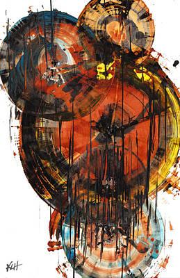 Painting - Sphere Series 1023.050312 by Kris Haas
