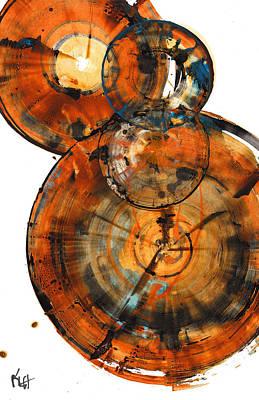 Painting - Sphere Series 1027.050412 by Kris Haas