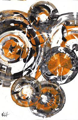 Painting - Sphere Series 851.121311 by Kris Haas