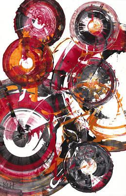 Painting - Sphere Series 852.121211 by Kris Haas