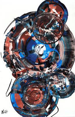 Painting - Sphere Series 857.121711 by Kris Haas