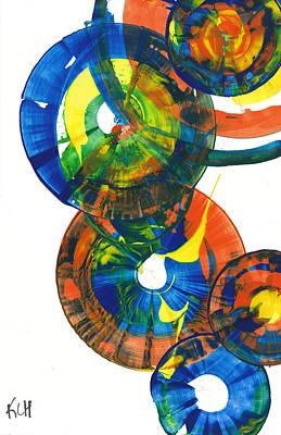 Painting - Sphere Series 858.121711 by Kris Haas