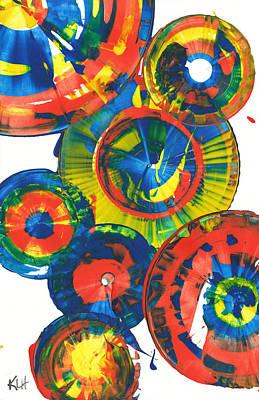 Painting - Sphere Series 859.121811 by Kris Haas