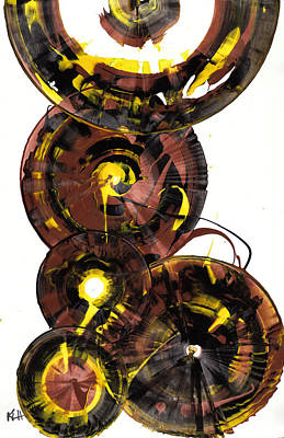 Painting - Sphere Series 860.121811 by Kris Haas