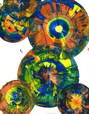 Painting - Sphere Series 866.121911 by Kris Haas