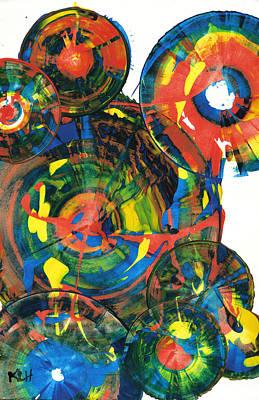 Painting - Sphere Series 867.122011 by Kris Haas