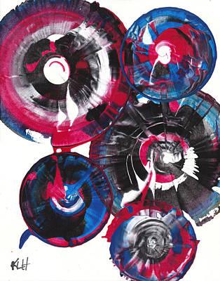 Painting - Sphere Series 868.122011 by Kris Haas