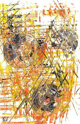 Painting - Sphere Series 890.010811 by Kris Haas