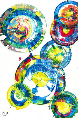 Painting - Sphere Series 935.021212 by Kris Haas