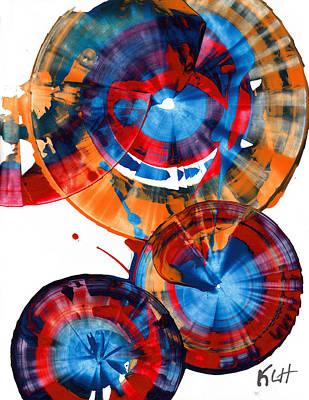 Painting - Sphere Series 965.030812 by Kris Haas
