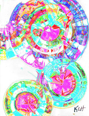 Digital Art - Sphere Series 965.030812vsscinvx2fddfx2 by Kris Haas