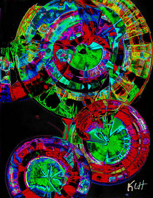 Digital Art - Sphere Series 965.030812vsscinvx3fddfx2 by Kris Haas